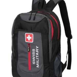 Swiss Military Rucksack schwarz