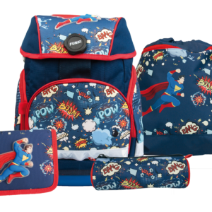 Joy-Bag Schulthek Superhero Set