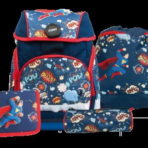 Joy-Bag Schulthek Superhero Set