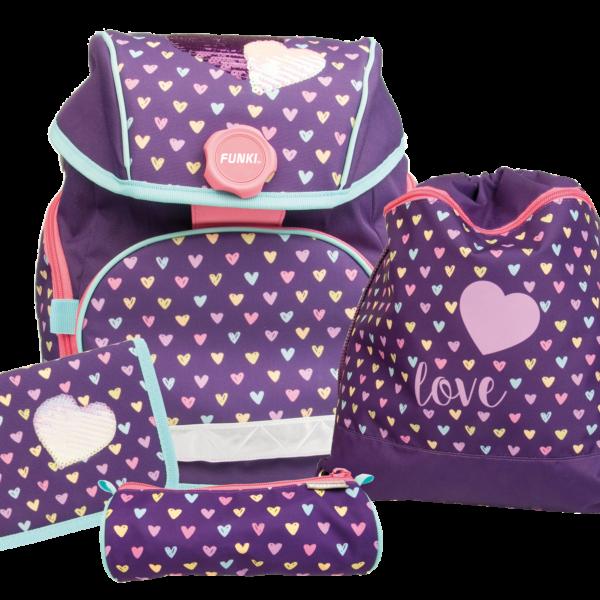 Joy-Bag Hearts Schulthek