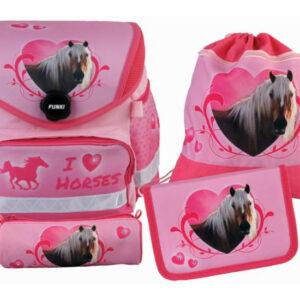 Funki Funny-Bag Horses Schulranzen