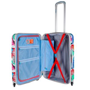 Reise koffer bunt