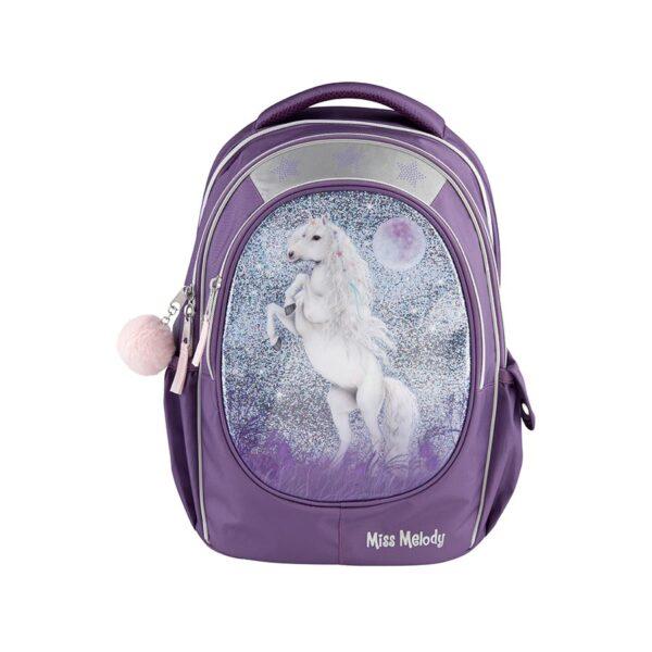 MM Schulrucksack Lilac ergonomisch