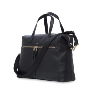 knomo laptop ledertasche