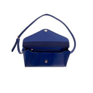 PAPERTHINKS mini Envelope Tasche blau
