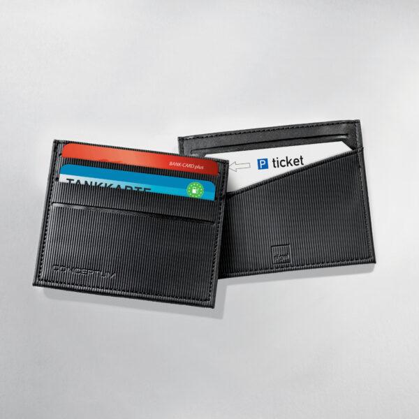 SIGEL Kreditkartenetui schwarz