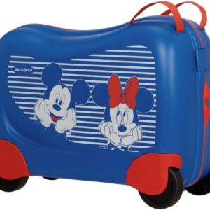 Samsonite Dream Rider Minnie Mickey Stripes Disney Trolley